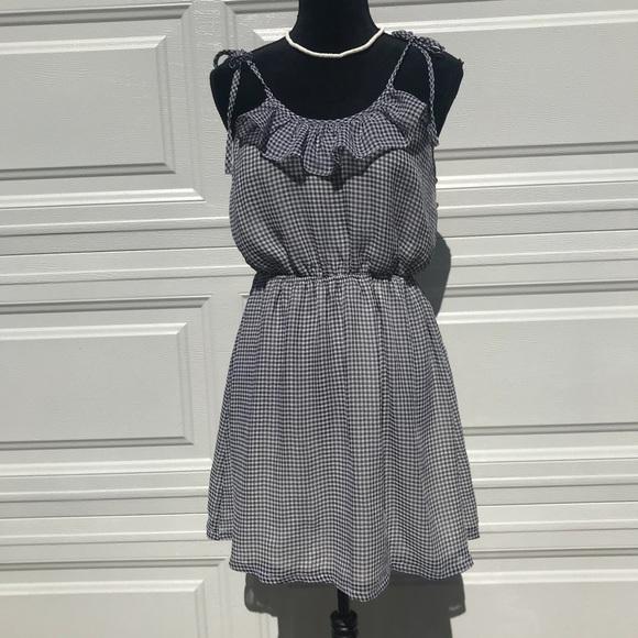 06e6908bd3c Black   white checkered dress